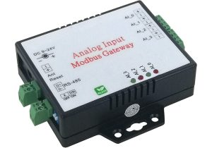 Analog Input to Modbus RTU Gateway <br>AM140