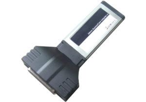 2-Port RS232 + 1-Port Parallel ExpressCard/34 <br>E341211