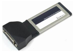 1-Port RS232 + 1-Port Parallel ExpressCard/34 <br>E34952SP