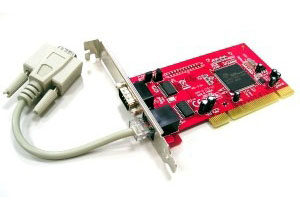 2-Port RS232 Low Profile PCI with 5V Output <br>PCI102