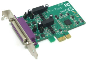 2-Port RS422/485 PCIe with Surge & Isolation <br>PE2200S / PE2200IS
