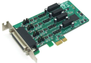 4-Port RS422/485 PCIe with Surge & Isolation <br>PE2400IS