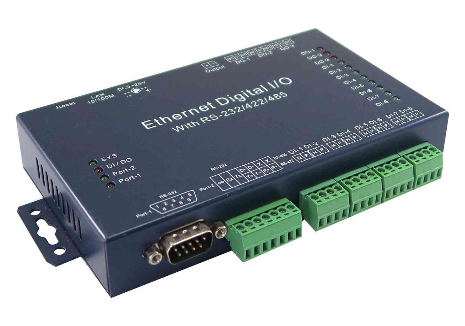 Serial Device Server with Digital I/O <br>SE731D
