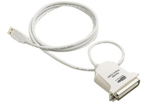 USB to Parallel Printer Cable <br>UC1284L