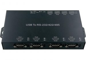 UC840IS – USB to 4 x RS232/422/485 with Isolation
